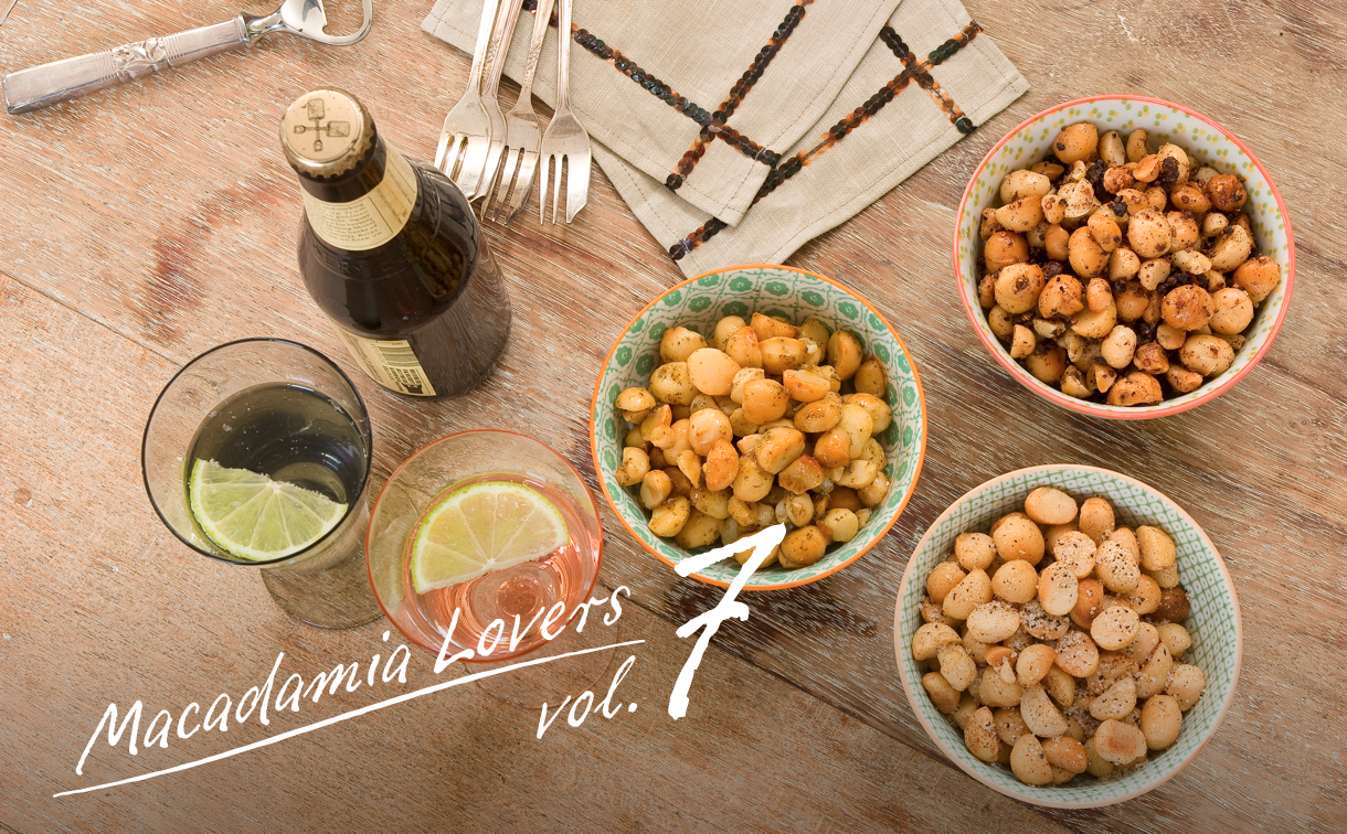MACADAMIA LOVERS Vol.7 おつまみ特集