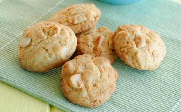 マカダミアとレモンのクッキー