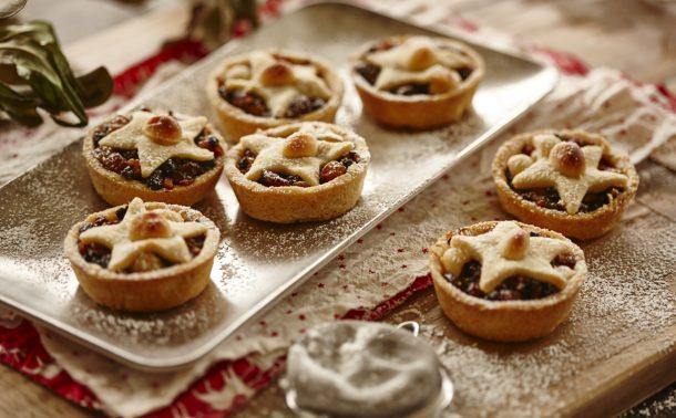 マカダミアとフルーツミンスのクリスマスタルト(ミンスパイ)