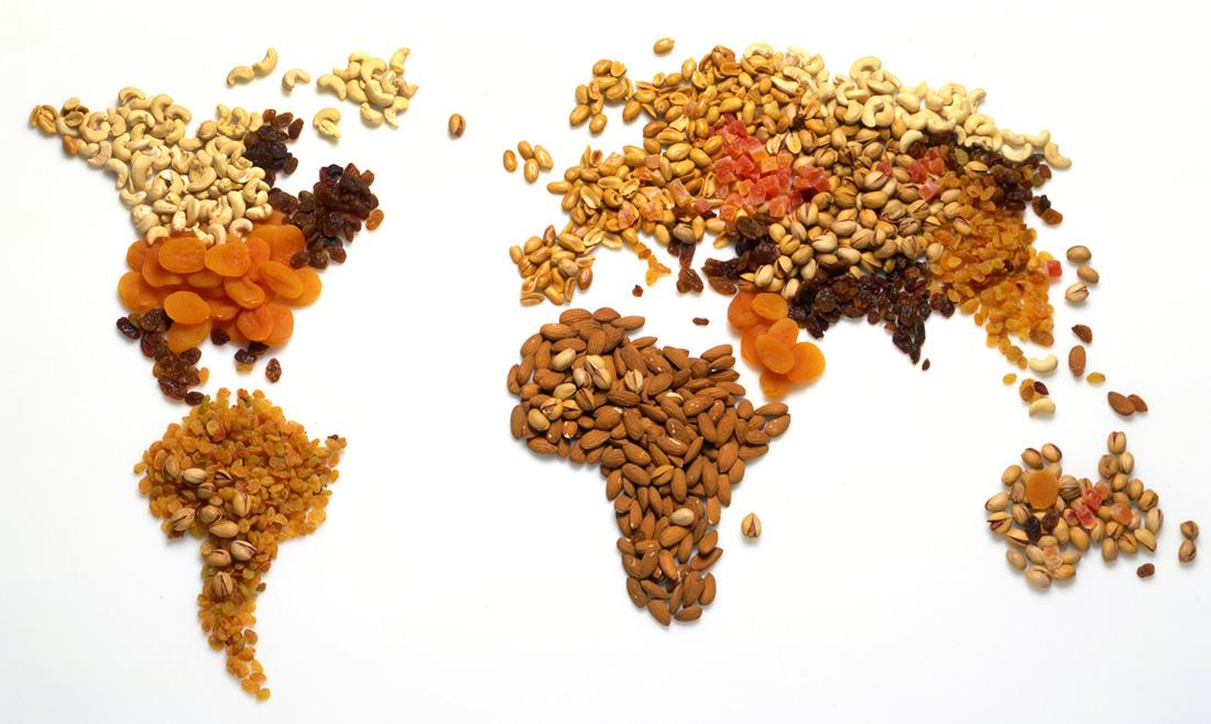 世界のナッツと世界のマカダミアナッツの呼び方