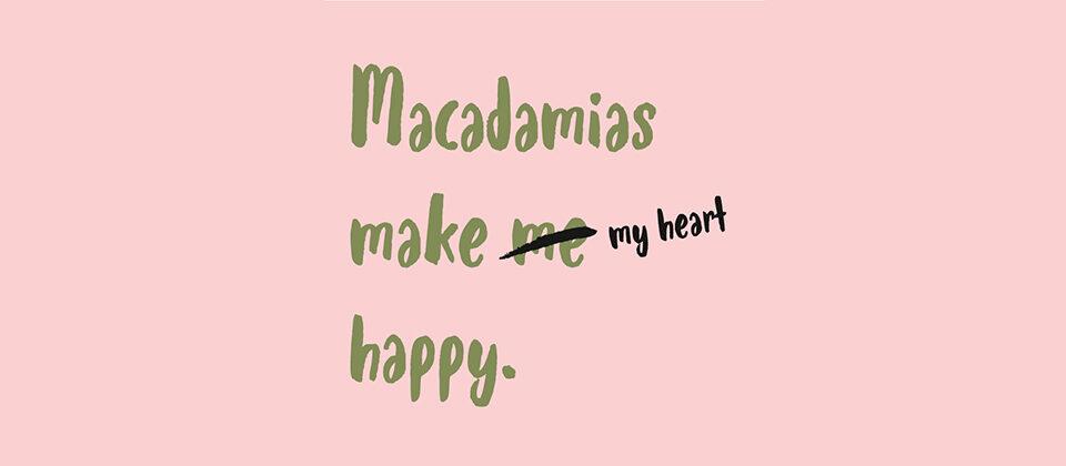 マカダミアナッツでハッピーになれる10の理由