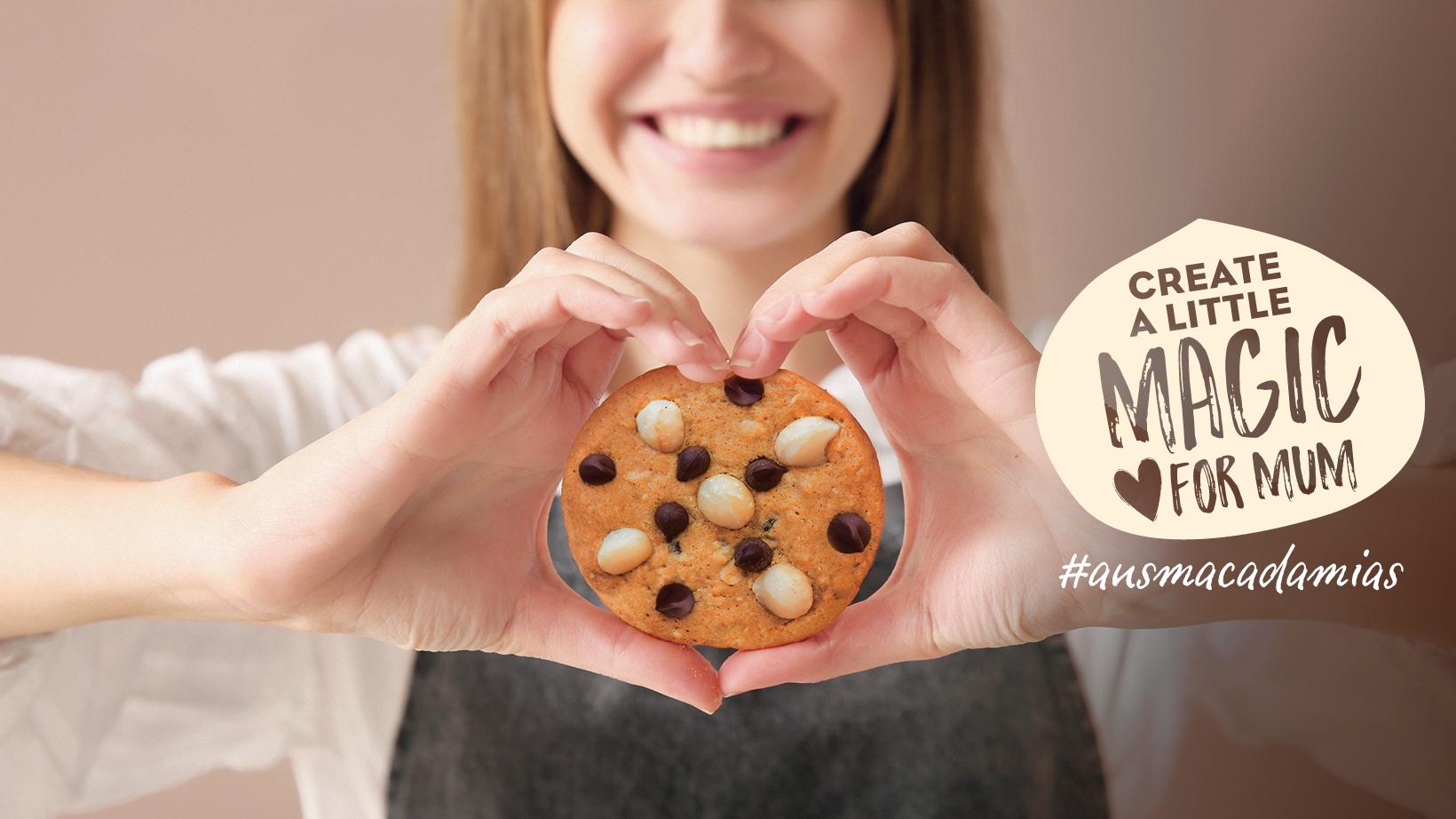 たっぷりの愛とマカダミアを込めて。母の日の手作りクッキー2021新定番